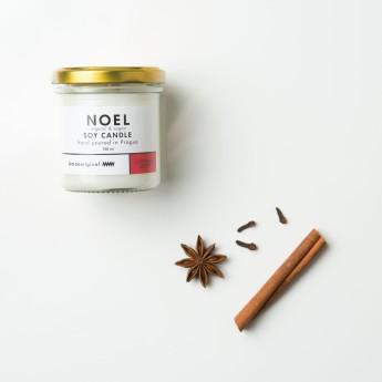 Sojová svíčka 150ml Noel